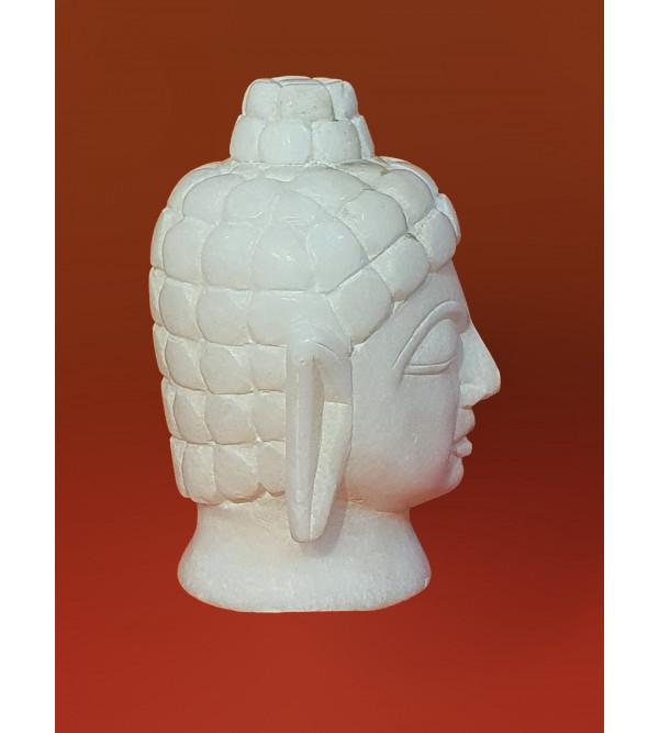 Alabaster Buddha Head Size 5 Inch