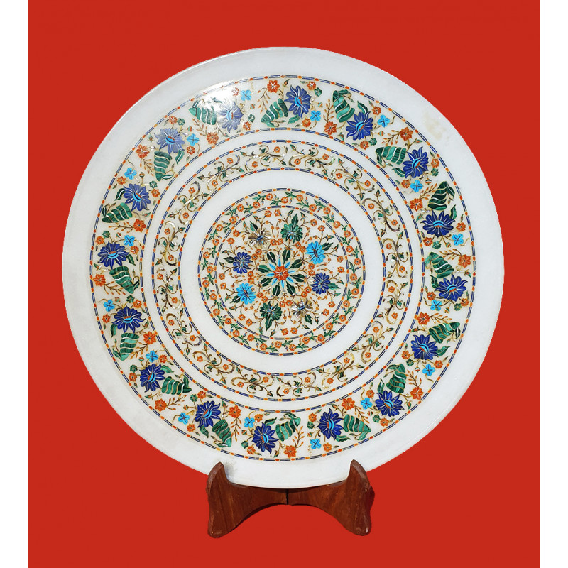 PLATES MARBLE 20inch