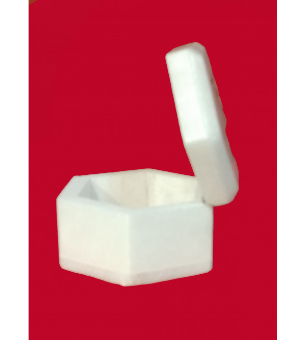 ALBASTER SEMI PRECIOUS STONE  BOX 25 X 25 INCH  FINE WORK