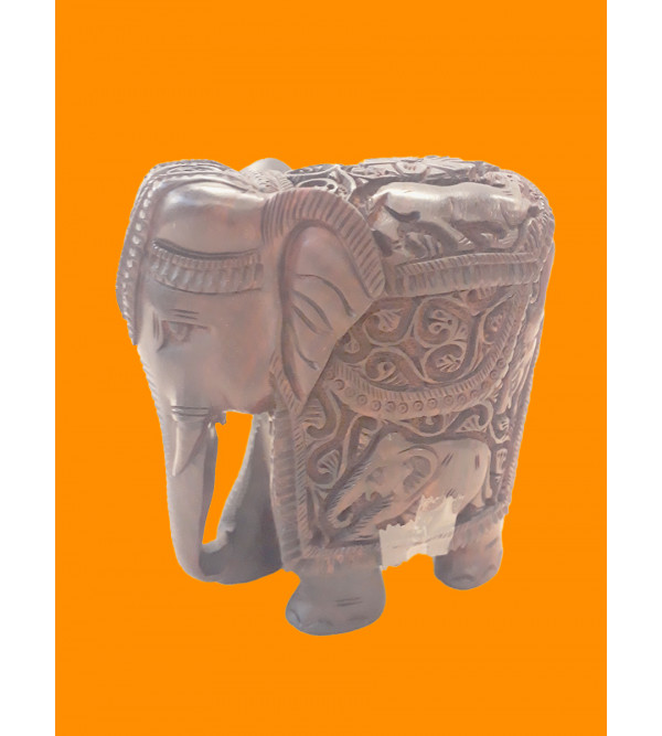5  INCHES ELEPHANT RED SANDAL WOOD