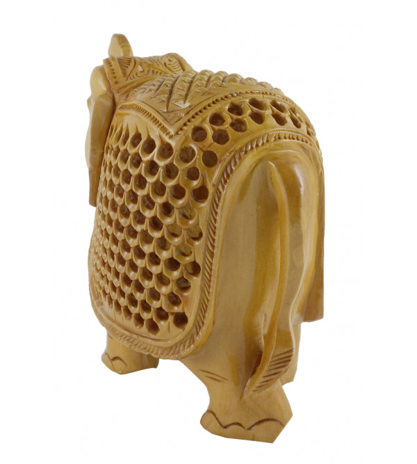 KADAM WOOD ELEPHANT UNDERCUT 5 INCH