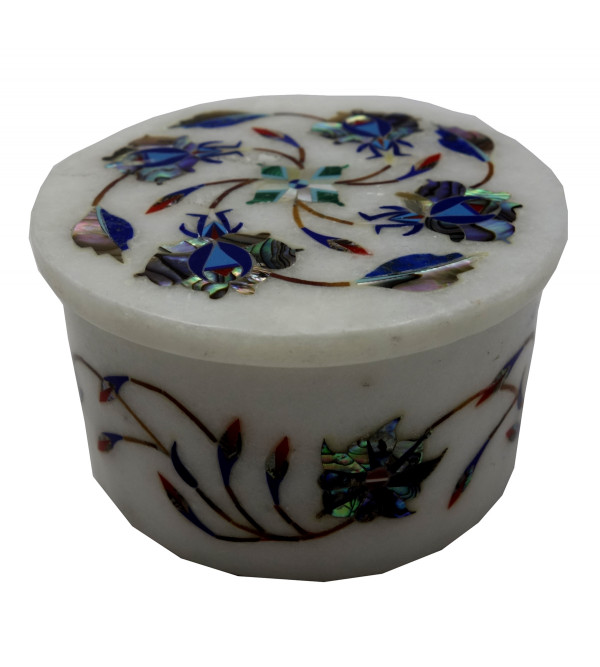 BOXES MARBLE 3 Inch ROUND shape