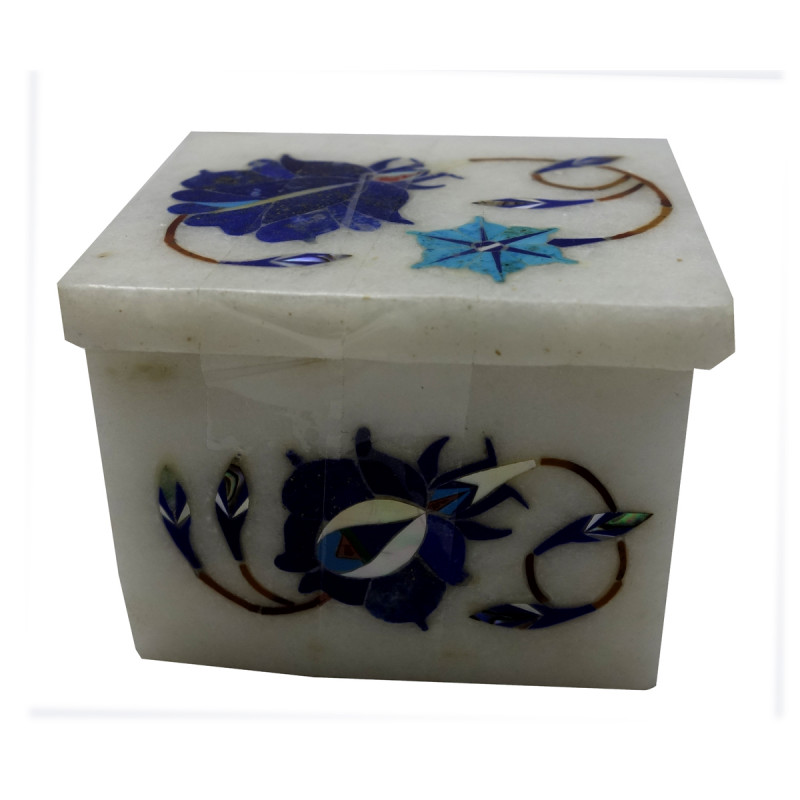 BOXES MARBLE INLAY 2x1.5 Inch