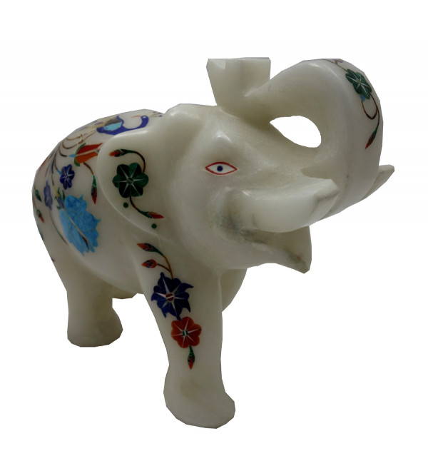 ANIMAL MARBLE 6 Inch Elephant