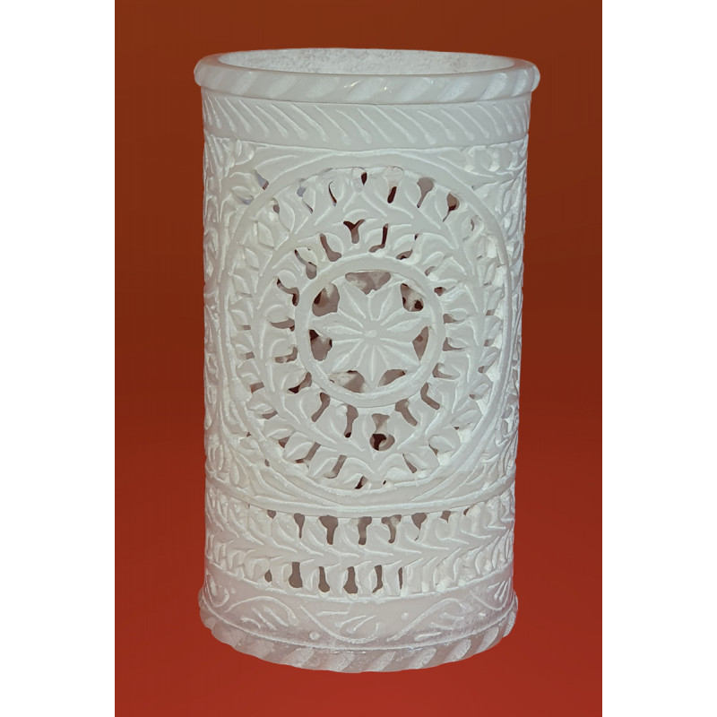 Handicraft Mable Flower Vase 6 Inch