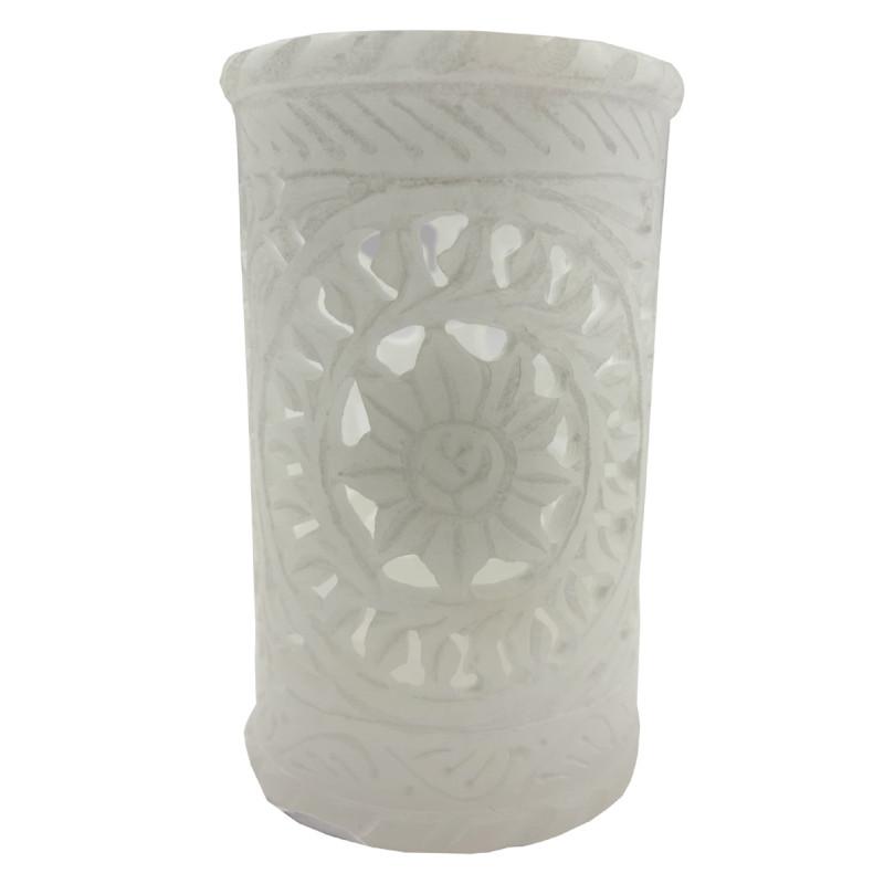 Handicraft Mable Flower Vase 4 Inch