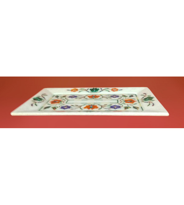 MARBLE TRAY 9X6 INCH