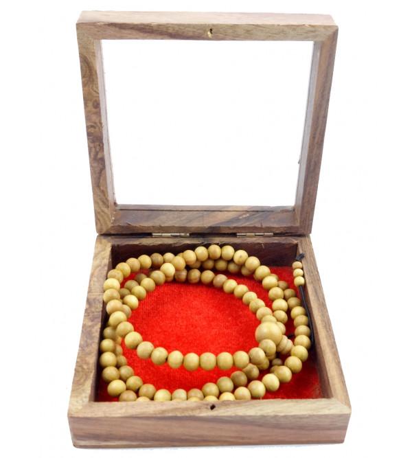 Sandal Wood Japmala A Grade 6 MM 108 Beads