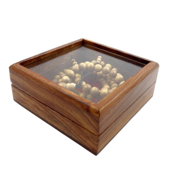 Sandal Wood Japmala A Grade 8 MM 108 Beads