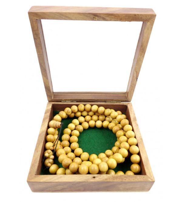 Sandal Wood Japmala A Grade 10 MM 108 Beads
