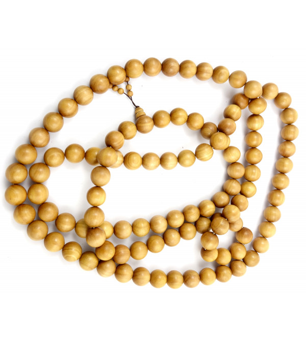 Sandal Wood Japmala A Grade 20 MM 108 Beads