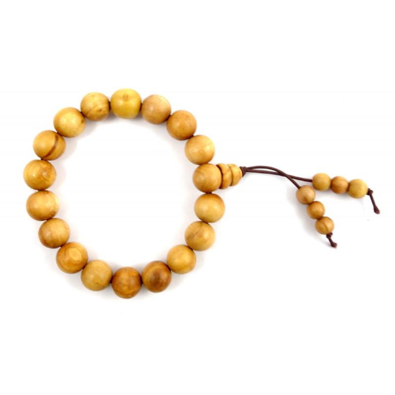 SANDALWOOD BRACELET A GRADE 10MM 17 to 18 Beads
