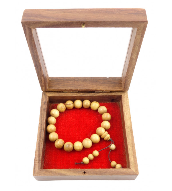 SANDALWOOD BRACELET A GRADE 10MM 17 to 18 Beads