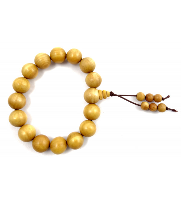 SANDALWOOD BRACELET A GRADE 12MM 17 to 18 BEADS