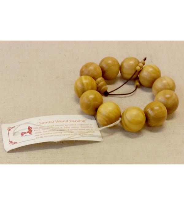 Sandalwood A Grade Handcrafted Bracelet