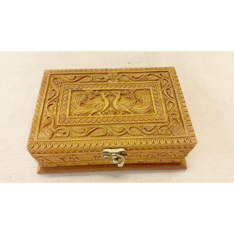 Sandalwood Carved Handcrafted Box