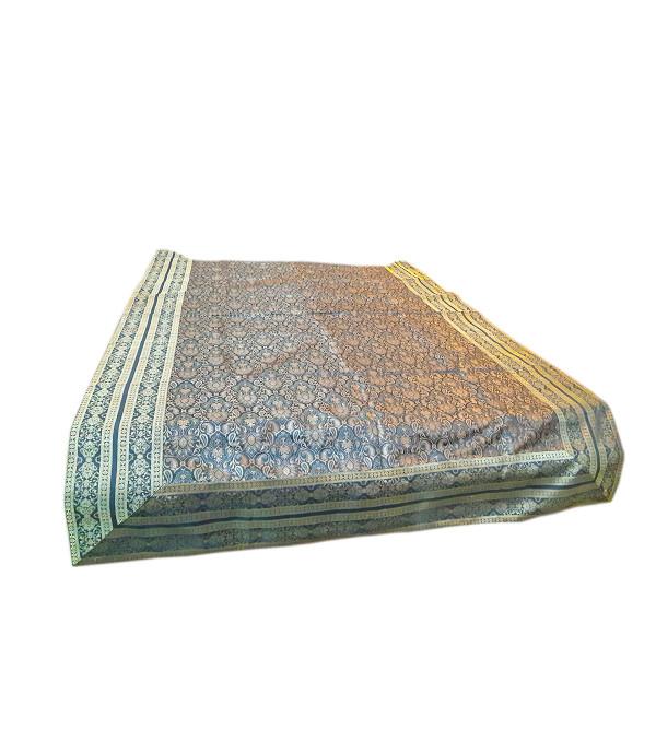 Brocade Silk Handwoven Bedcover  Size 60x90 Inch