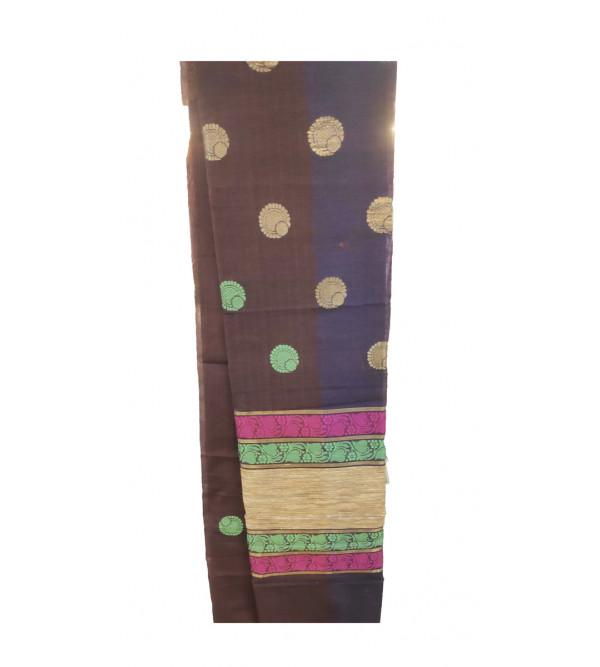 Banaras Cotton Handwoven Saree with Blouse