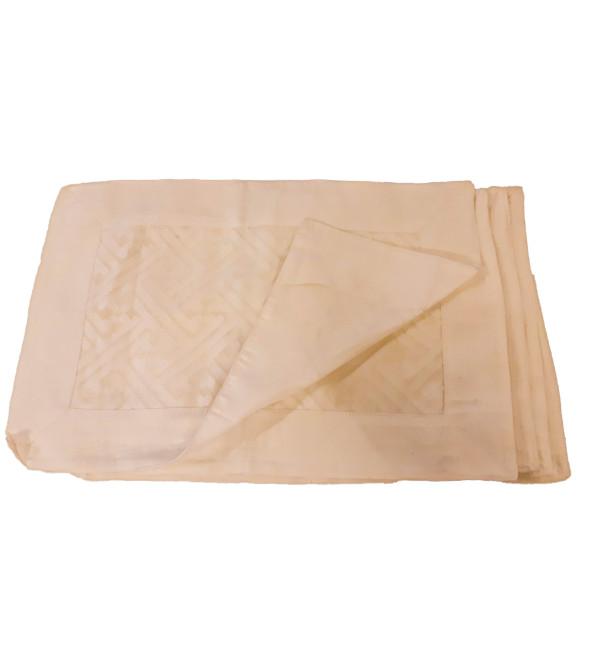 Cotton Cutwork Handwoven Table Mat Set Size 13x19 Inch