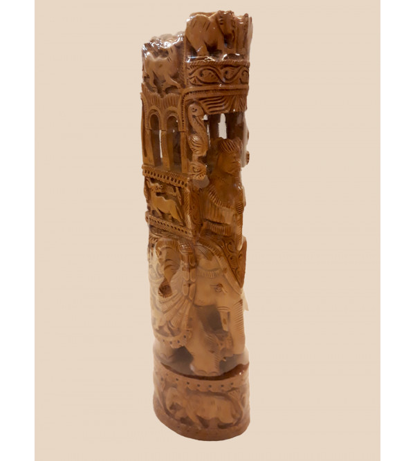 Sandalwood Handcrafted Carved Ambari