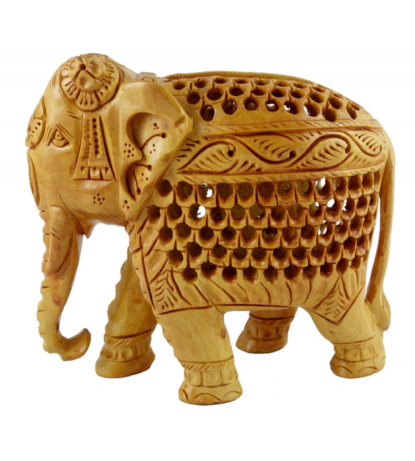 KADAM WOOD ELEPHANT UNDERCUT 4 INCH
