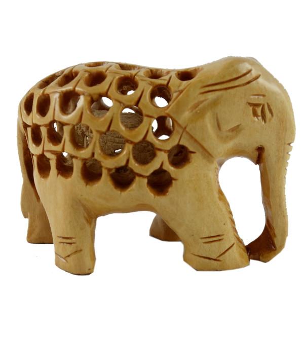 ELEPHANT JALI WORK KADAM WOOD 2 INCH