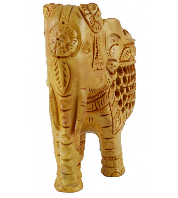 ELEPHANT JALI WORK KADAM WOOD 5 INCH