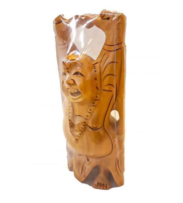 Kadamba wood Handcrafted Figure of Laughing Buddha