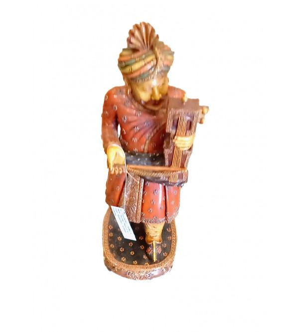 Kadamba Wood Handcrafted and Hand Painted Musician