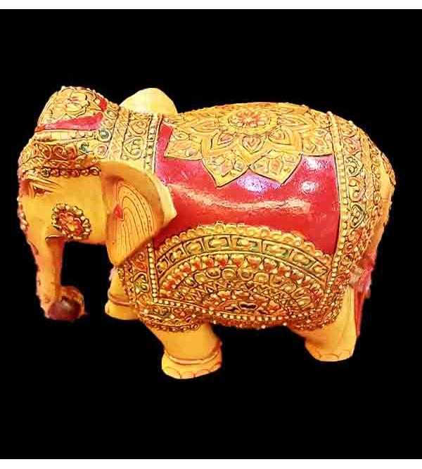 WOODEN ELEPHANT 3 inch