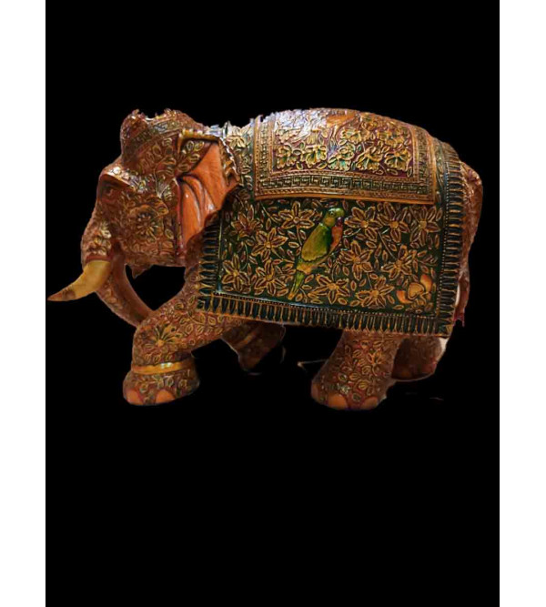 WOODEN ELEPHANT 9 inches