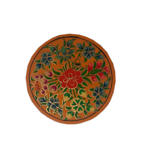 Coaster 7 Pcs Set Round Assorted Designs and colors