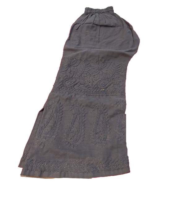 Cotton Kurta with Hand Embroidered Chikan Work from Lucknow