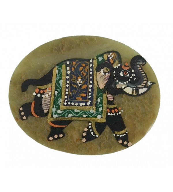 HANDICRAFT SOFT STONE PAINTED MAGNET
