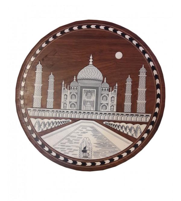 Inlay Round Table Taj