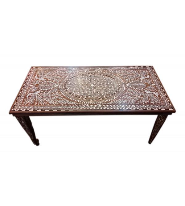 INLAY COFFEE TABLE 1836 S-40x20x18INCH