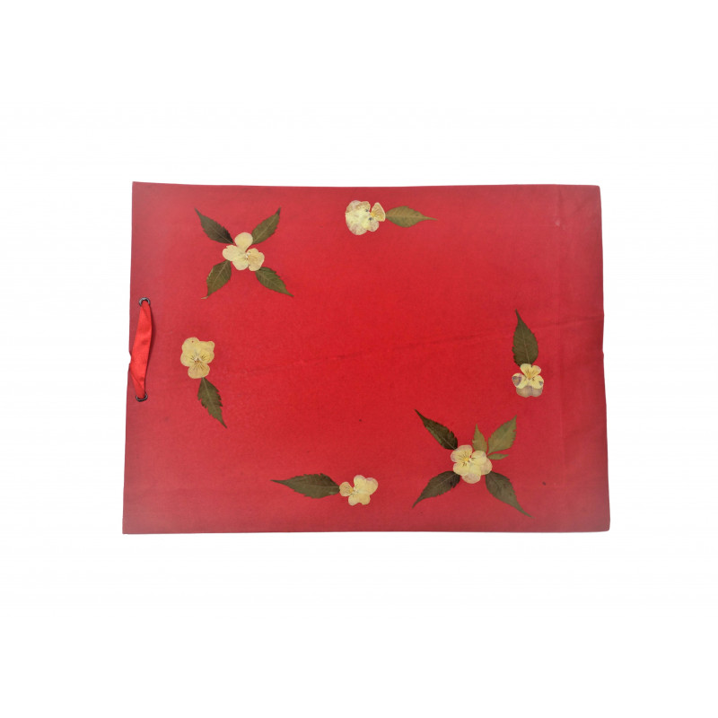 Paper Bag With ribbon 11.5 X 15.5 Inch