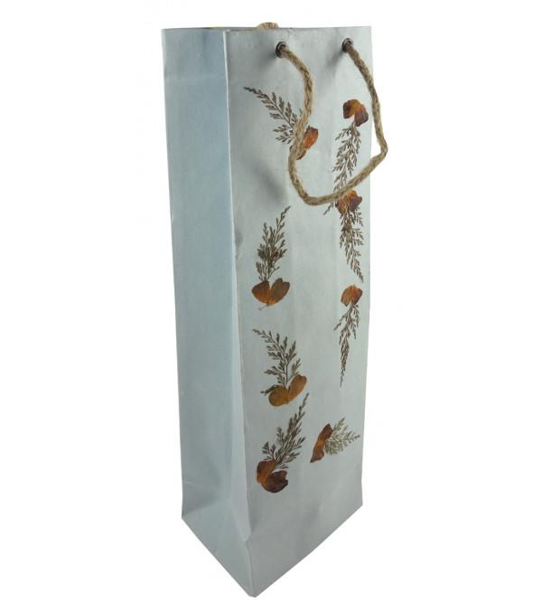 Handicraft Wine Bottle Bag 4x14 Inch