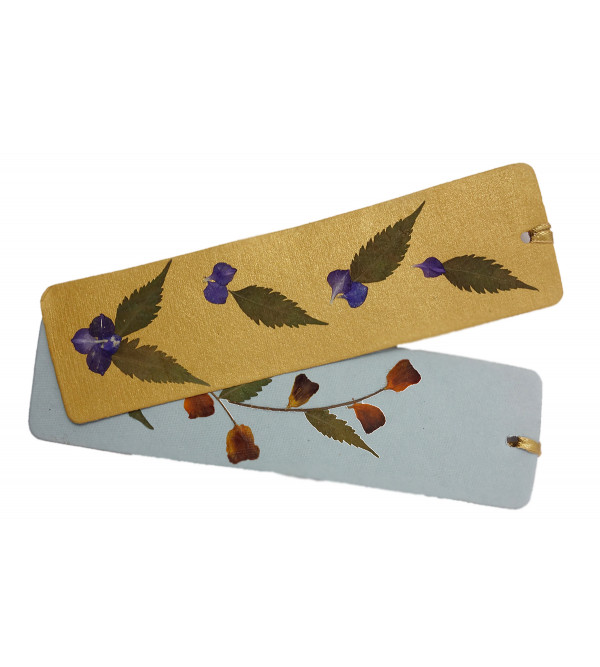 ASSORTED BOOK MARK 2 PCS SET 2X7 INCH