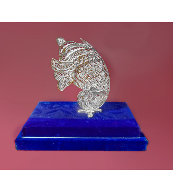 Filigree Silver Handcrafted Lord Ganesha