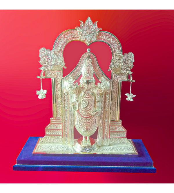 Filigree Silver Handcrafted Balaji Figure