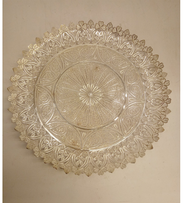 Filigree Silver Handcrafted Plate