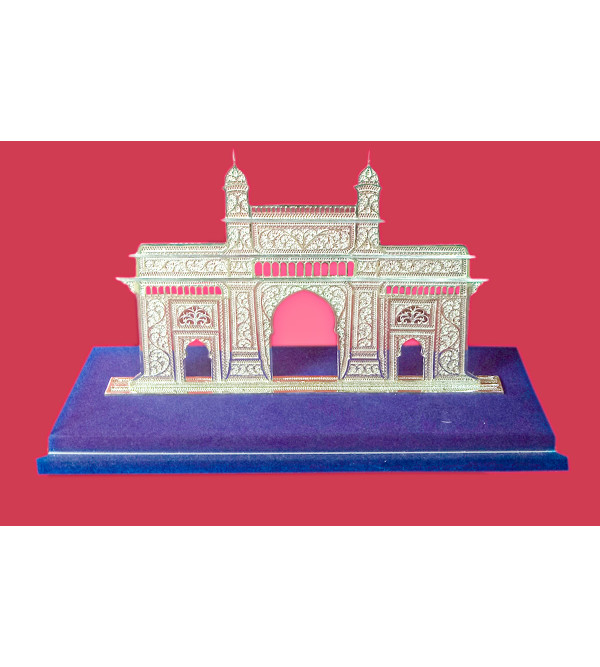 Filigree Silver Handcrafted Gateway Of India