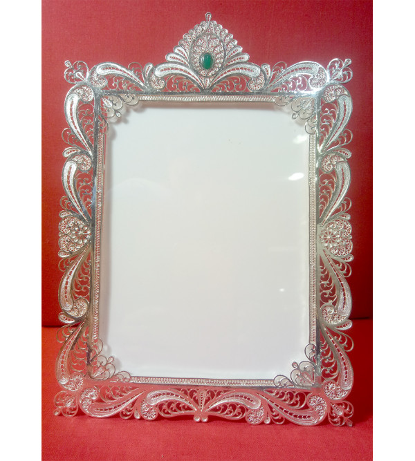 Filigree Silver Handcrafted Photo Frame
