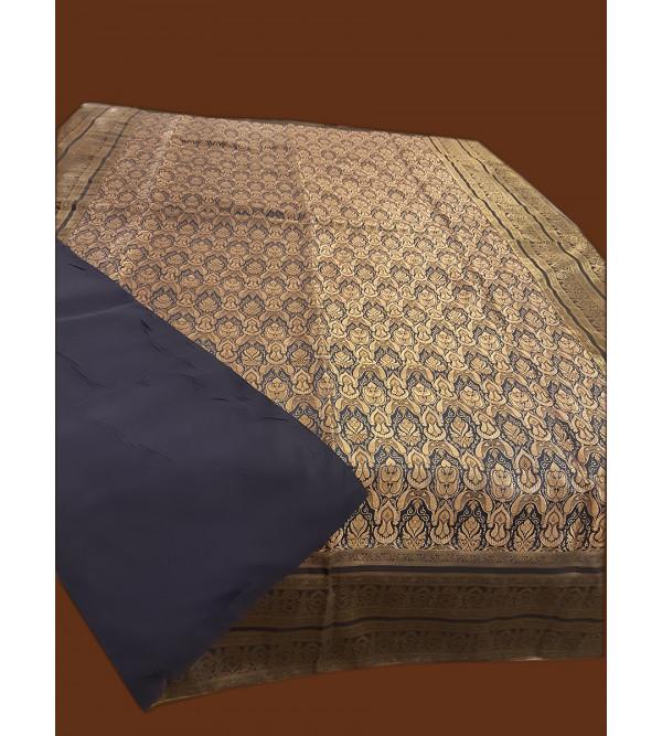 60X90 INCH ZARI BROCADE BED COVER