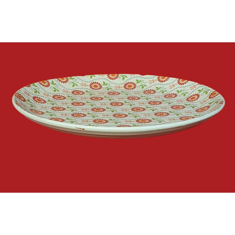Khurja Pottery Full Plate Size 10.5 Inch
