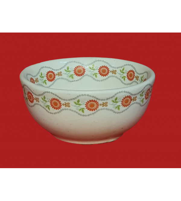 Handcrafted Khurja Pottery Katori Size 5 Inch