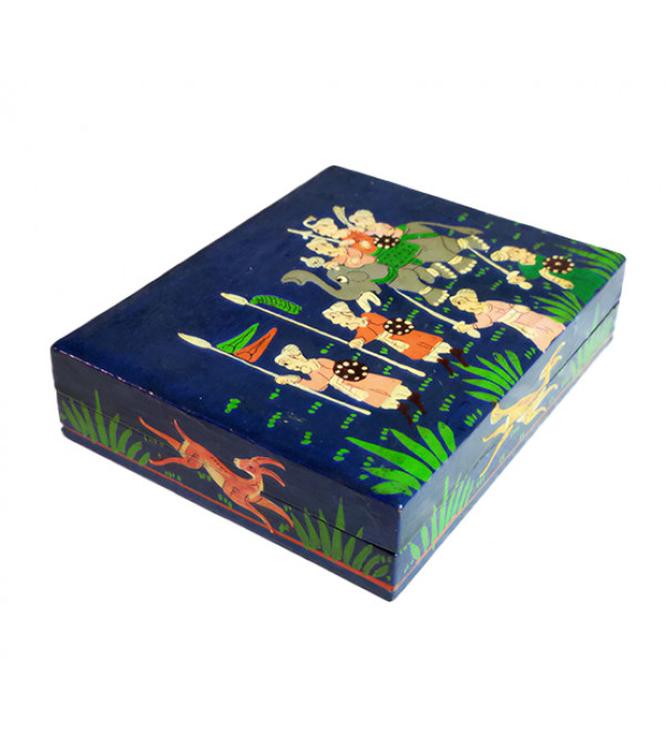FLAT BOX 5X4 INCH ASSORTED DESIGNS AND COLORS