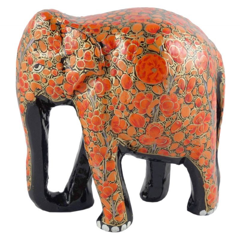ELEPHANT 4 INCH PAPIER MACHE ASSORTED