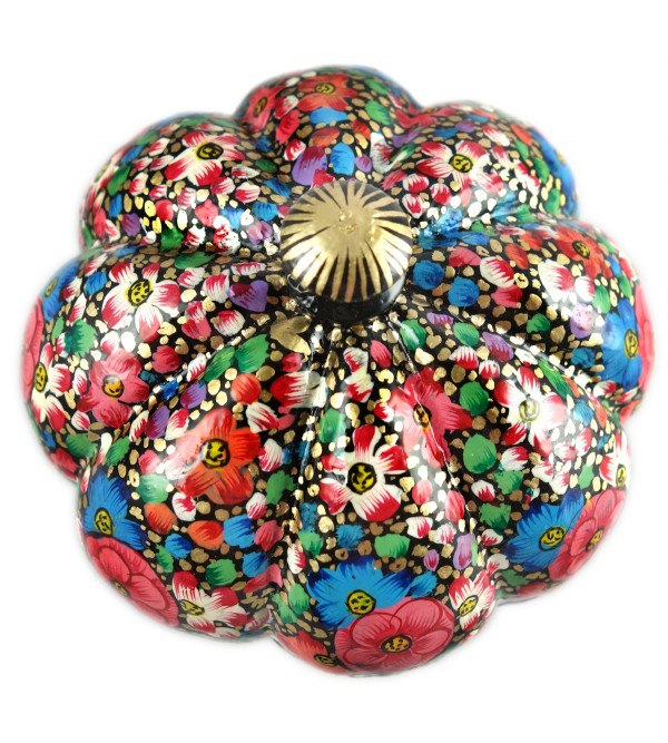 HANDICRAFT PAPER MACHE BOX POWDER 4 INCH KHARDAR